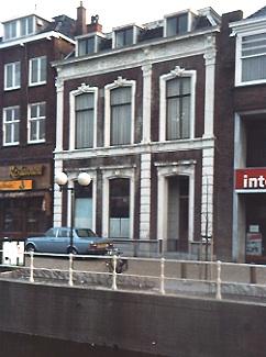 Nieuwestad 77 te Leeuwarden, praktijkpand C. Booy